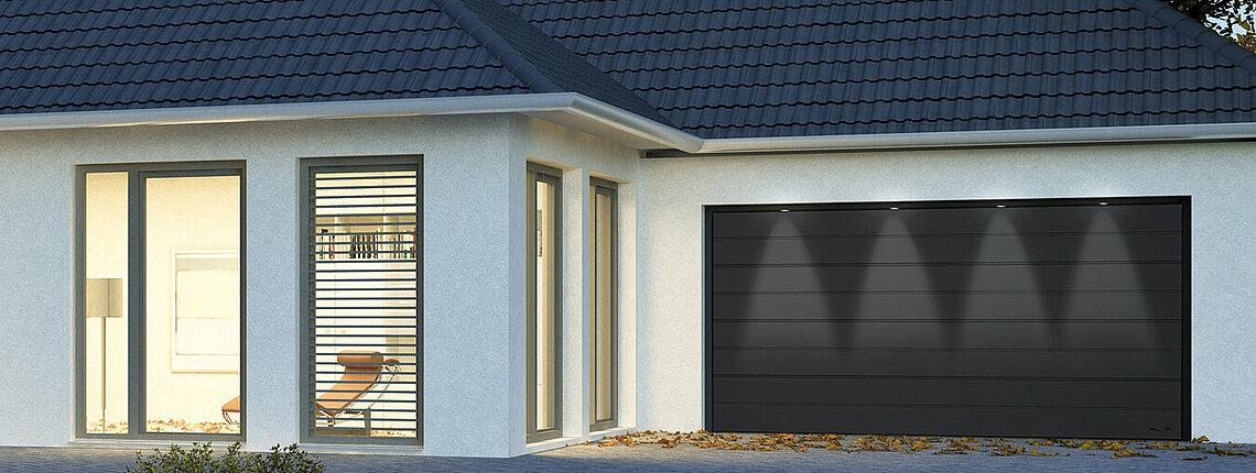 Garagen-Sektionaltor ISO 70