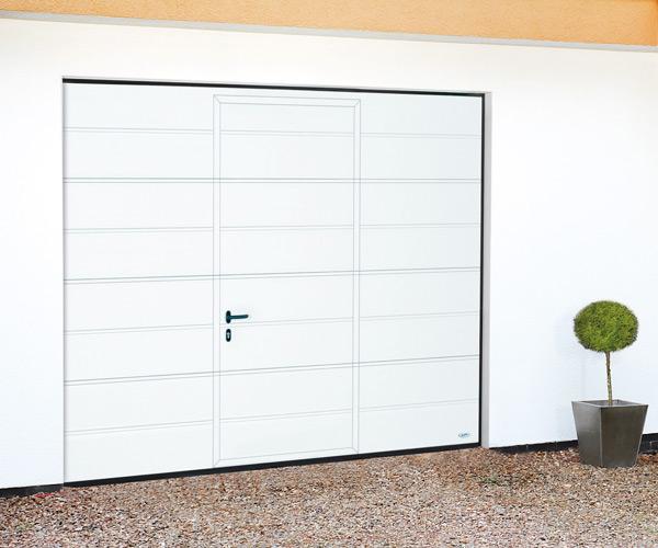 Sectional Garage Doors With Pass Doors