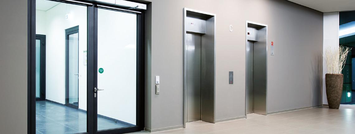 Aluminium exterior doors | Novoferm Group