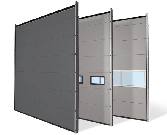 Thermo 60 mm sectional door U value 5000 x 5000 mm 0.77 W/m²K  sc 1 st  Novoferm & Thermo insulated industrial sectional doors | Novoferm Group